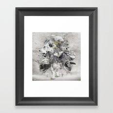Save their life Framed Art Print