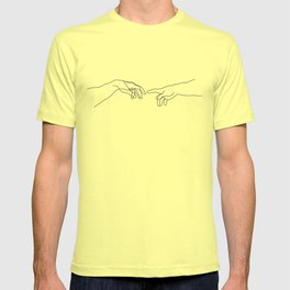 Creation of Adam Minimal Drawing T-shirt