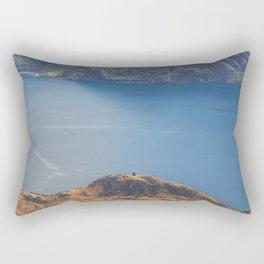 Roys Peak Lookout 1 Rectangular Pillow