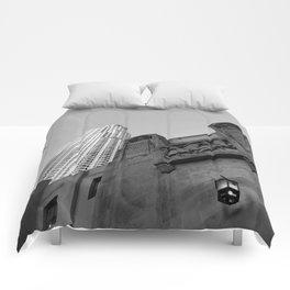 Grey skies Comforters