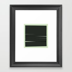 #46 Movement – Geometry Daily Framed Art Print