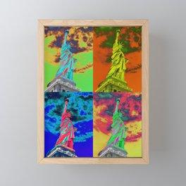 The four colored women Framed Mini Art Print