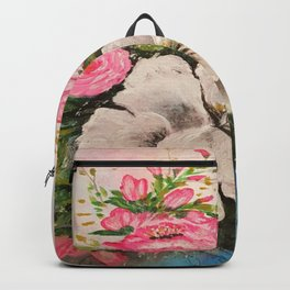 Magic japan flowers Backpack