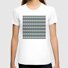 Blue Floral Japanese Pattern T-shirt