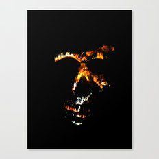 Death Charmer Canvas Print