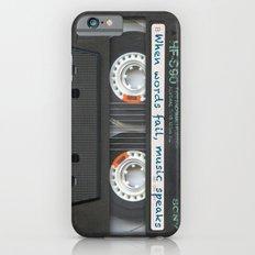 Cassette iPhone - Words iPhone 6 Slim Case