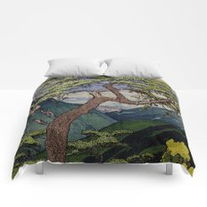 The Downwards Climbing Comforters