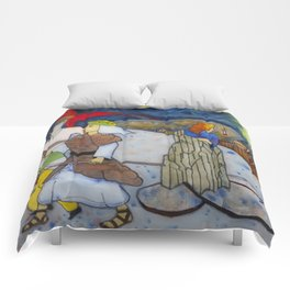 The fatal look back (Lot2) Comforters