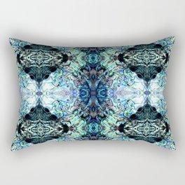 Paua Shell  Inspired Pattern Rectangular Pillow