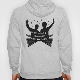 BILL AND TED'S EXCELLENT ADVENTURE Collectible Beth Bacon Design no.4 Hoody