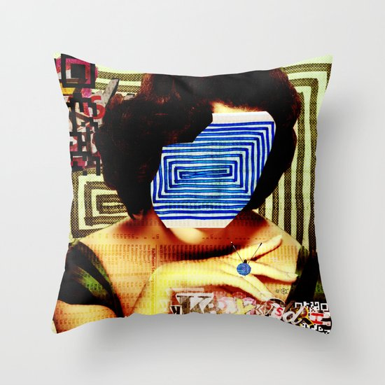 LizEdge · wanna go somewhere Throw Pillow