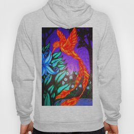 The Flame and the Moon Flower Hoody