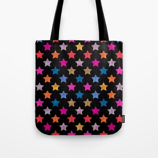 Colorful Star IV Tote Bag