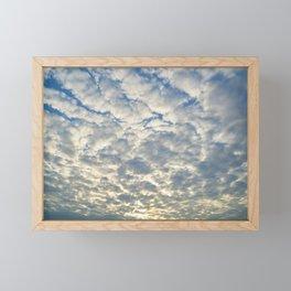 Shimmering Sky Framed Mini Art Print
