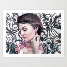 Conspicuous design Art Print