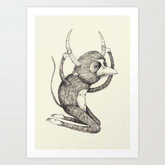 'Freak' Art Print