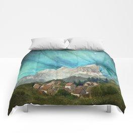 An den Bergen hing die Nacht Comforters