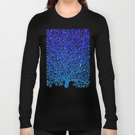 Fan Coral – Blue Ombré Long Sleeve T-shirt