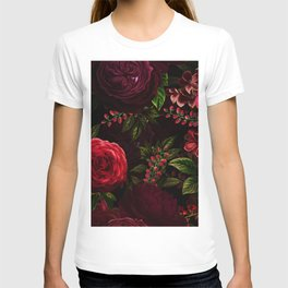 Mystical Night Roses T-shirt