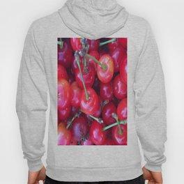 Close-up Cherries Hoody