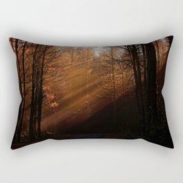 Autumn Woods Rectangular Pillow