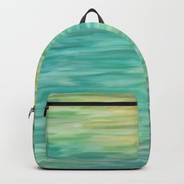 Grunge texture green color Backpack