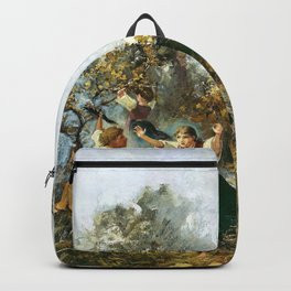 Rudolf Koller - Young bull, terrifying children - Digital Remastered Edition Backpack