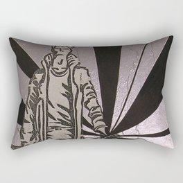 The Transcending Man Rectangular Pillow