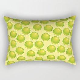 Bubblegum Pop - Lime Rectangular Pillow