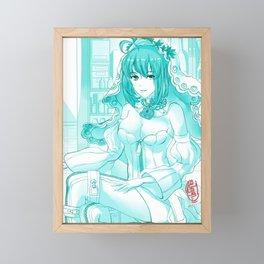 Saber Bride Framed Mini Art Print