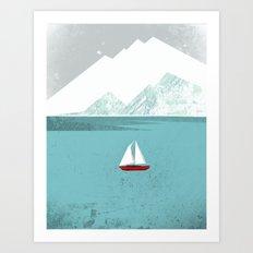Dawn Treader Art Print