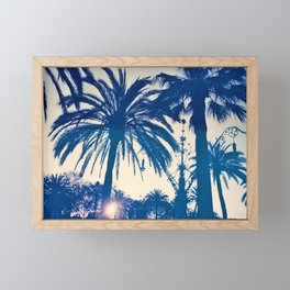 Palm tree II Framed Mini Art Print