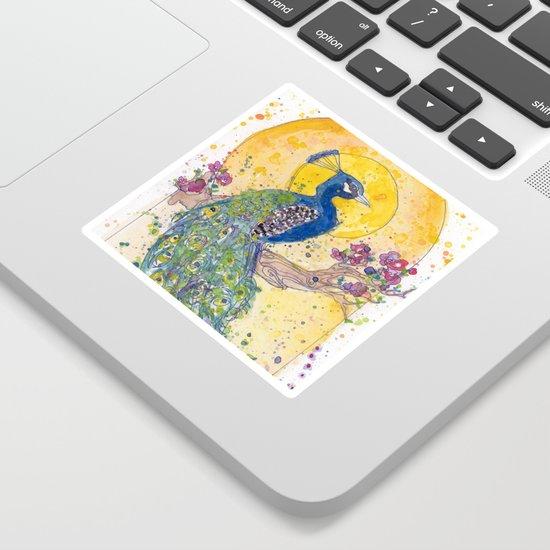 Peacock in the Sun by femmetomorrow