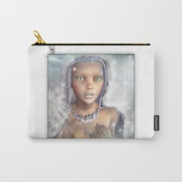 """Froza"" by MiaSnow and Trindolyn Beck Carry-All Pouch"