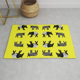 Dance of the Tapirs Rug