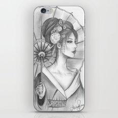Elegant Oriental Japanese Geisha by Ashley Rose Standish iPhone & iPod Skin