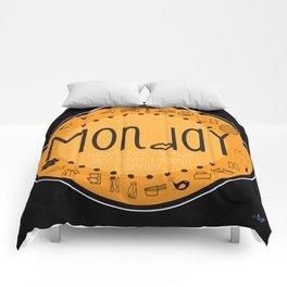 Monday Vibes Comforters