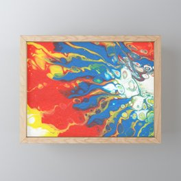 Flowing Sun Framed Mini Art Print