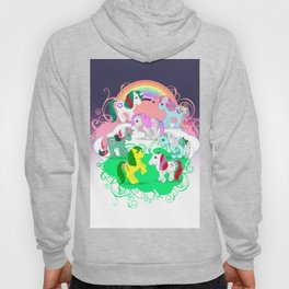 g1 my little pony Gusty, Sweet Stuff, Magic Star, Fizzy, Snuzzle, Minty, Moondancer Hoody
