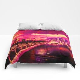 Purple City Comforters