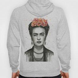 Frida Kahlo Portrait Hoody
