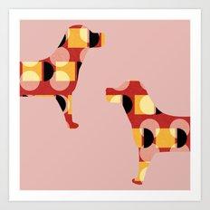 Dogs Art Print