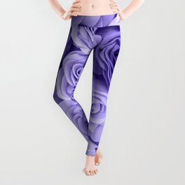 Violet Roses Leggings