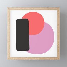 Cherry Equilibrium Framed Mini Art Print