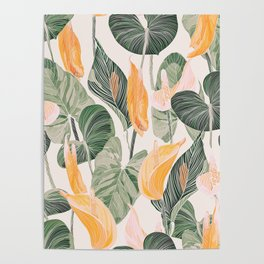 Lush Lily - Autumn Poster