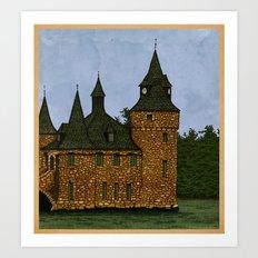 Jethro's Castle Art Print