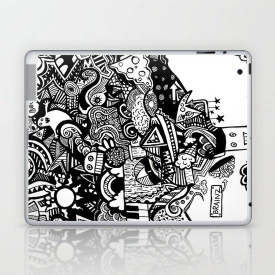 mind blown Laptop & iPad Skin