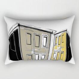 The Yellow Neighbourhood Rectangular Pillow