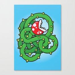 Audrey II: The Piranha Plant Canvas Print
