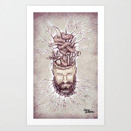 Wicked Mind Art Print
